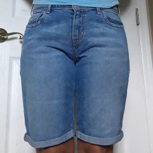 Levi's 515 Bermuda Jeans Shorts size 6